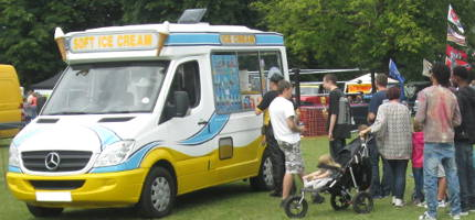 Ice Cream Van Surrey