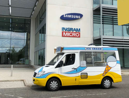 Corporate Ice Cream Van Office Ice Cream Van Hire