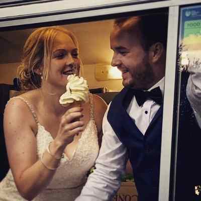 Mr Whippy Wedding Ice Cream Van